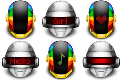 Daft Punks Icons