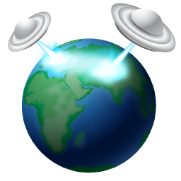 earth attack icon