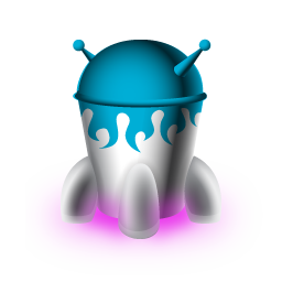 Spaceship Icon | Space Invaders Iconset | TurboMilk | 256 x 256 png 30kB