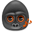monkeys audio icon