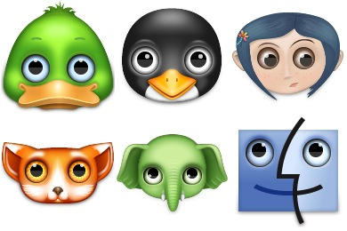 Zoom Eyed Creatures 2 Icons