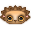 http://icons.iconarchive.com/icons/turbomilk/zoom-eyed-creatures/64/hedgehog-icon.png