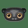 Black-leopard icon