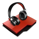http://icons.iconarchive.com/icons/tuziibanez/profesional-red/128/audio-folder-icon.png