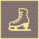 ice shoes icon