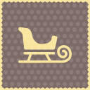 Snow sleigh 2 icon