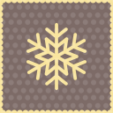 Snow snowflake 3 icon