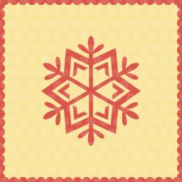 Snow snowflake icon