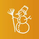 Snow boy icon