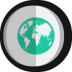 World-map icon