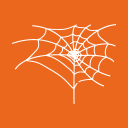 Halloween Spider Cobweb icon