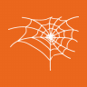 Halloween-Spider-Cobweb icon