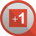 google plus one icon