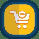 Shoppingcart 20 minus icon