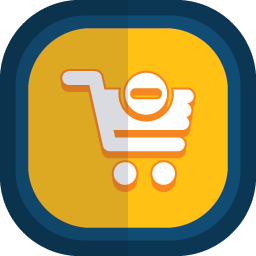 Shoppingcart 20 minus icon