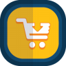 Shoppingcart-06-arrow-down icon