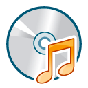 Cd audio unmount icon