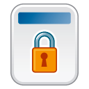 File-locked icon