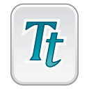 font true type icon