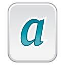 font type 1 icon
