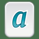 font type 1 icon