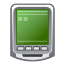 pda black icon