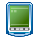 pda blue icon