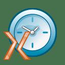 x clock icon