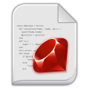 app x ruby icon