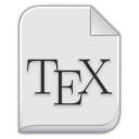text x bibtex icon