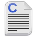 text x c icon