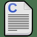 Text x c icon