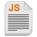 Text x javascript icon