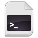 text x script icon