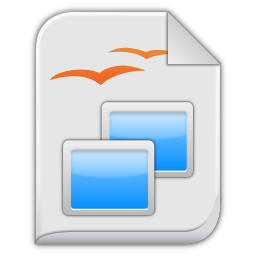 App vnd oasis opendocument presentation icon
