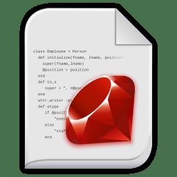 app x ruby icon