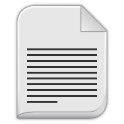 text plain icon