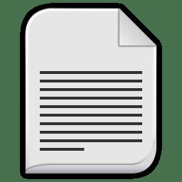 text plain icon