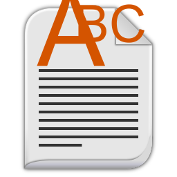 text richtext icon