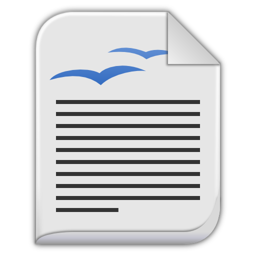 App-vnd-oasis-opendocument-text icon