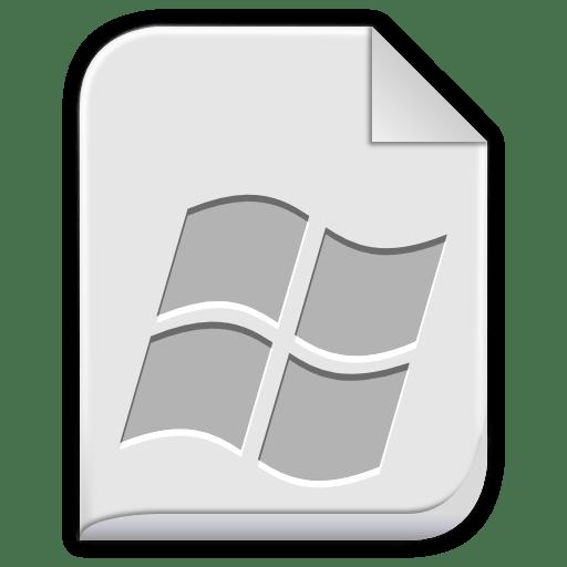 App-x-msdownload icon