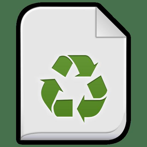 Text-x-bak icon