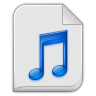 Audio-x-generic icon