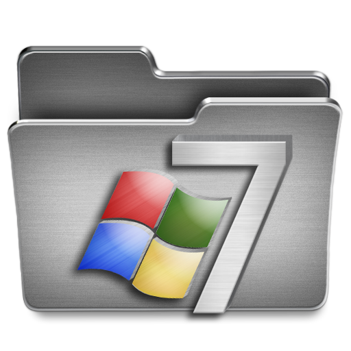 Windows 7 Icon | Steel System Iconset | Uriy1966
