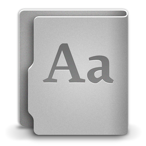 Font Icon | Aquave Metal Iconset | Vargas21