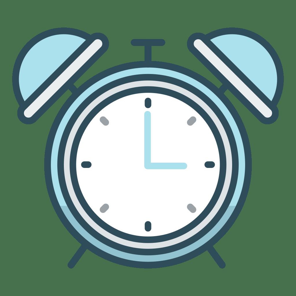 Alarm clock Icon   Office Iconset   Vexels