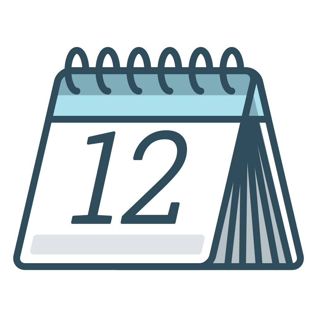 Calendar Icon Png Blue : Calendar icon office iconset vexels