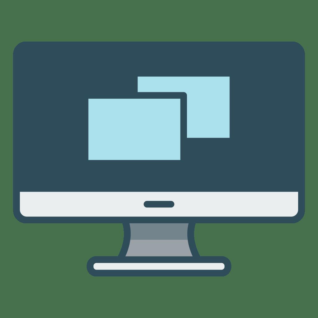 Desktop Icon | Office Iconset | Vexels