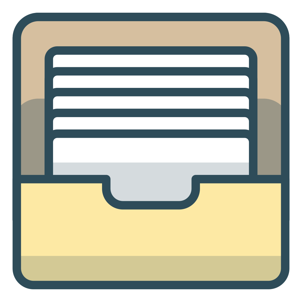 File archive Icon | Office Iconset | Vexels