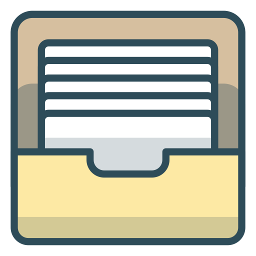 File-archive icon